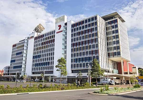 Channel 7 and Global Television building, Australian Technology park. Picture by DAMIAN SHAW.com