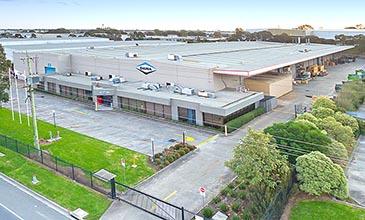 39-45 Wedgewood Road Hallam industrial building aerial view