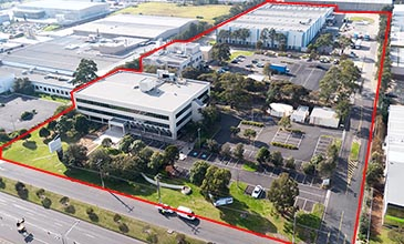 500 Princes Highway Noble Park industrial site aerial image