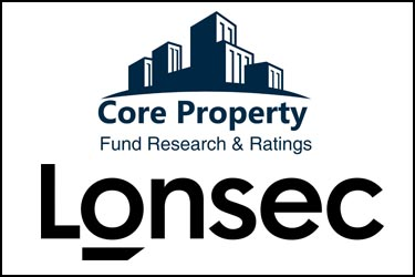 Lonsec and Core Property logos