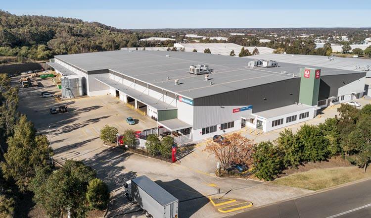 6 Macdonald Road, Ingleburn, NSW industrial property aerial hero shot