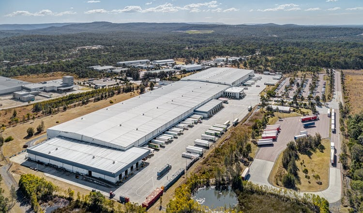 2 Woolworths Way, Warnervale, NSW aerial industrial property hero shot