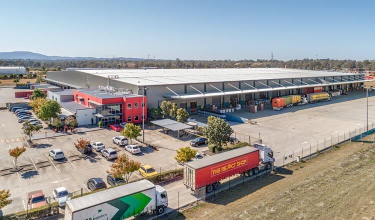 1 Ashburn Road Bundamba QLD Aerial Industrial Property
