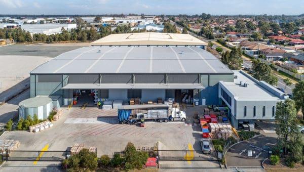 75 Owen St Glendenning NSW Aerial