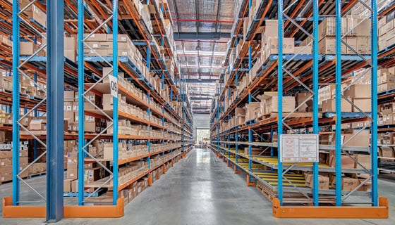 Industrial racking