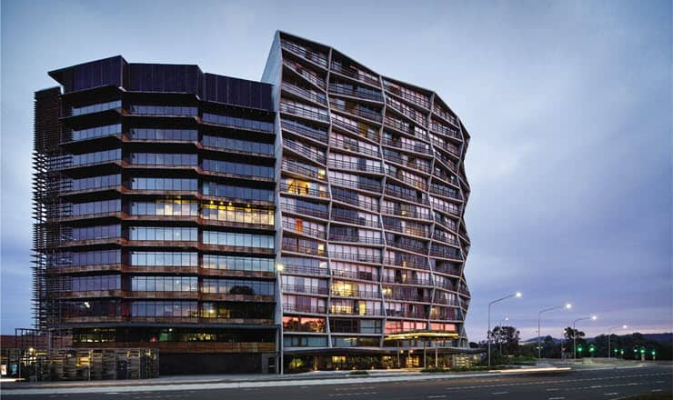 Nishi Building Canberra Feature
