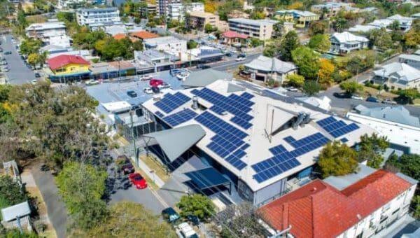 Auchenflower medical centre rooftop solar