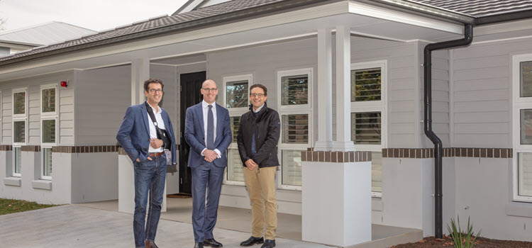 Centuria Healthcare opens first dementia home