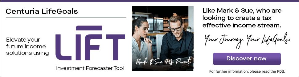 Elevate your future income solutions using LIFT like Mark and Sue who are looking to create a tax effective income stream