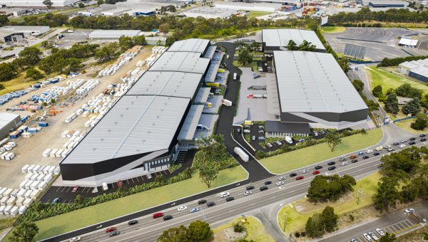 95-105 South Gippsland Highway Dandenong South VIC aerial