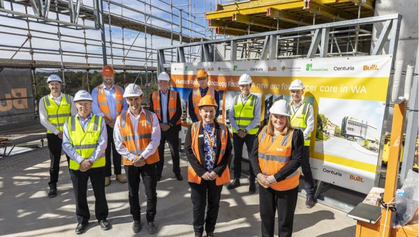 Murdoch Hospital Topping Out