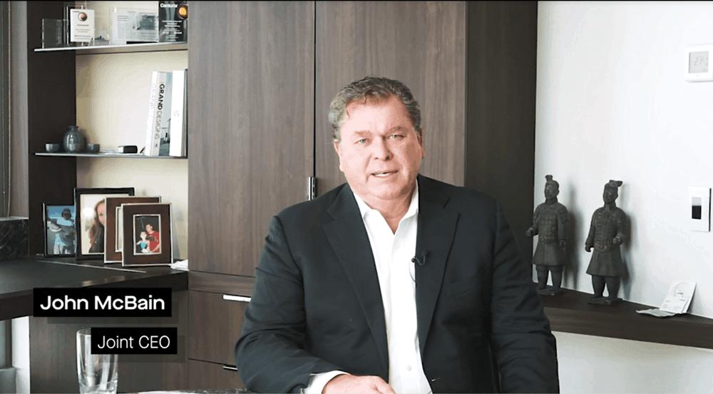 Watch John McBain Corporate Update
