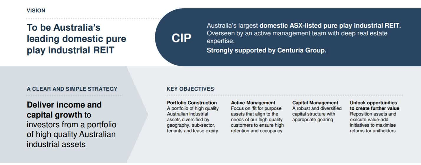 CIP Strategic Vision and objectives